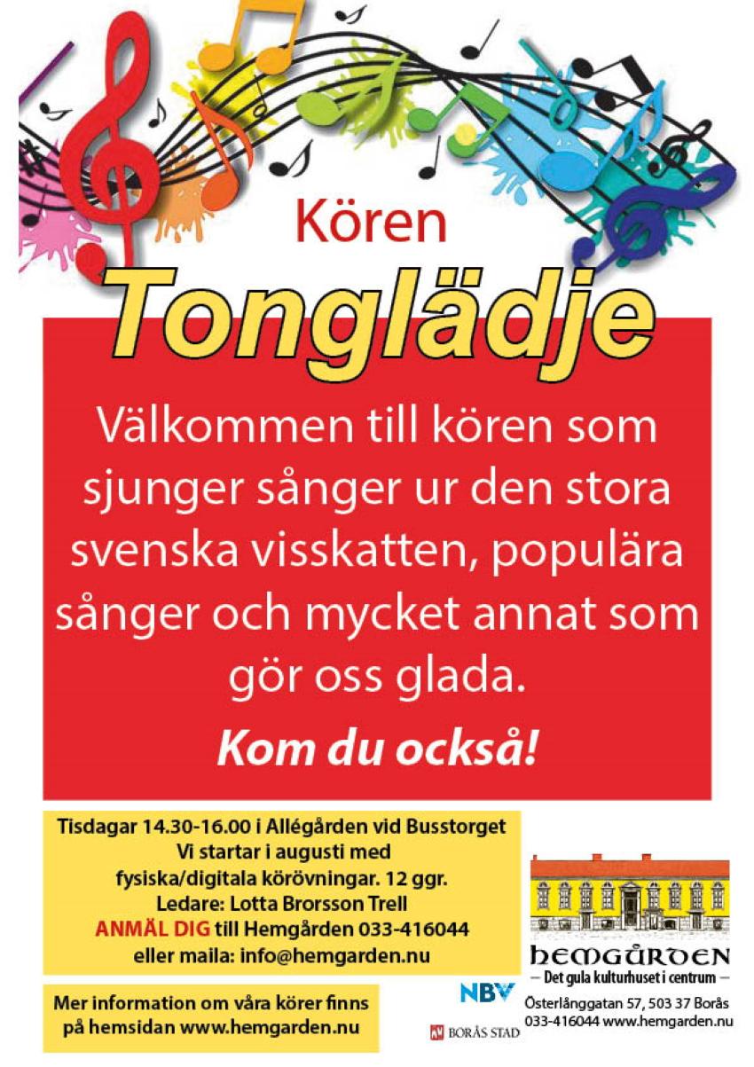 Körsång Hemgården Borås Charlotte Brorsson Trell